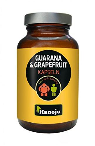 Hanoju Grapefruit+Guarana 450 mg (60 Kapseln) -
