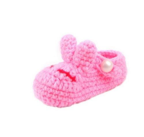 JTC Strickschuh One Size Baby Mit Süßen Muster Flaumweich Colour #37
