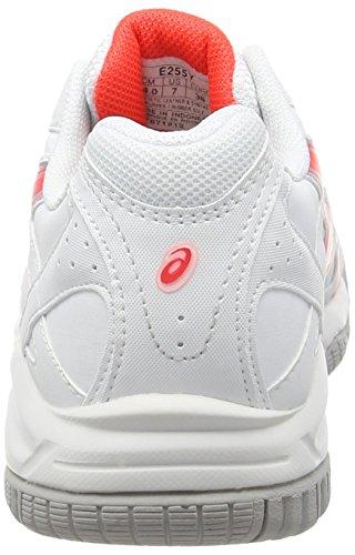 Asics E255Y Scarpe da Tennis Donna Bianco (White (White/Diva Pink/Silver 0121))