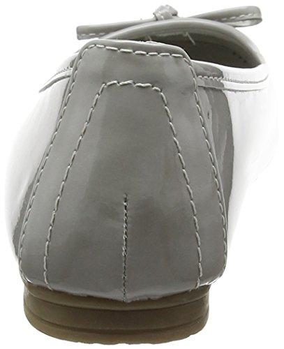 Softline - 22163, Ballerine Donna Grigio (Lt.grey Patent 281)
