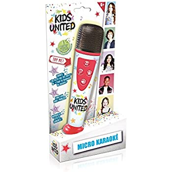 Canal Toys CT07201 1 X Electronique - Kids United - Micro Karaoké