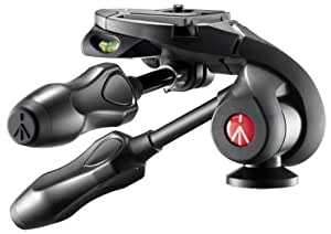 Manfrotto 3-Way Photo Head with Compact Foldable Handles