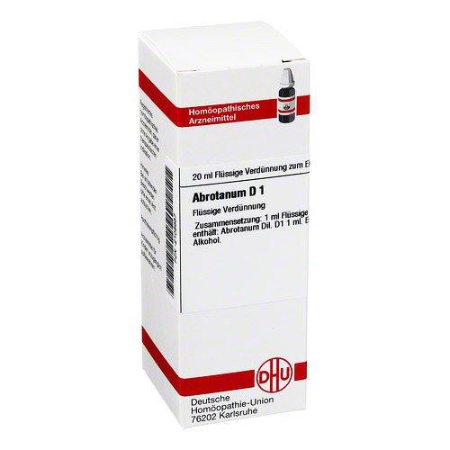 Abrotanum D 1 Dilution 20 ml