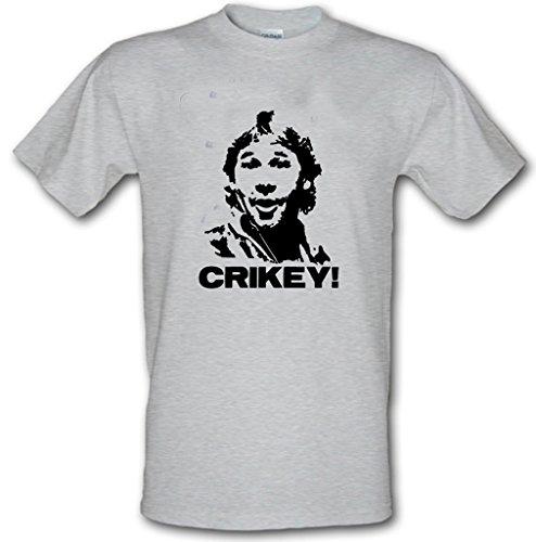 Revolutionary Tees Herren T-Shirt Grau Erika-Grau