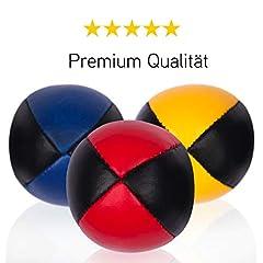 3er Set Diabolo Premium Jonglierbälle