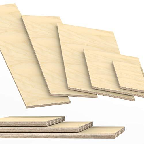21mm Multiplex Zuschnitt Länge bis 200cm Multiplexplatten Zuschnitte Auswahl: 40x150 cm