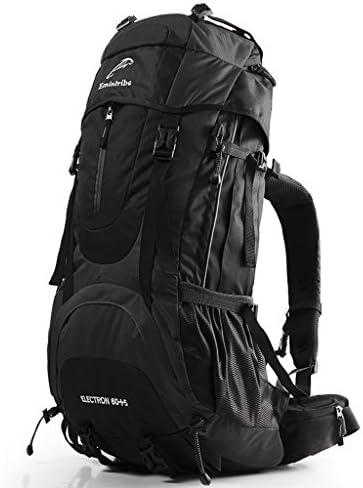 0fce5ea6d2 DFHHG® DFHHG® DFHHG® Zaini Outdoor Backpack 65L Capacità  overDimensione Zaino Uomo Donna su Leisure Travel Bag ...