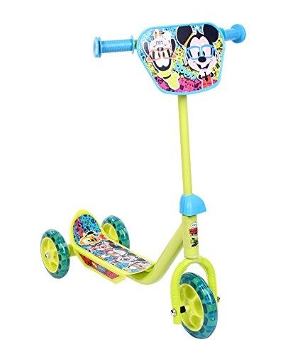 Excel Innovators Three Wheel Scooter - Mickey Mouse, Multicolor