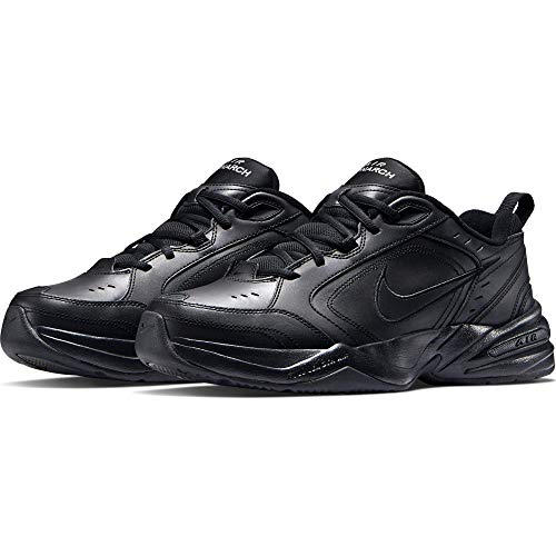 Nike air monarch iv, scarpe da fitness uomo, nero (black/black 001), 40 eu