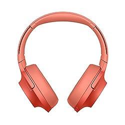 Sony WH-H900N High-Resolution Kopfhörer, Kabelloser, Noise Cancelling, rot