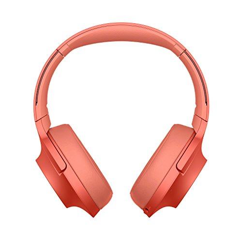 Sony WH-H900N Casque Bluetooth à Réduction de Bruit - Rouge