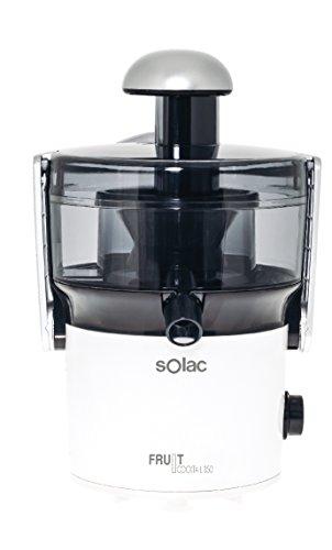 Solac LC-6205 Fruit Cocktail-Exprimidor 350 W, Capacidad 0, 4 l, 2 velocidades, Filtro de Acero Inoxidable...