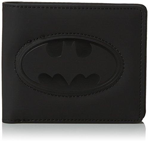 BB Designs Europe Limited Beyond Range Pu Wallet With Batman Embossed Logo - Billetera de Material Sintético Unisex adulto