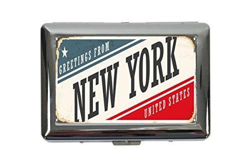 Zigarettenetui Box Stadt New York Bedruckt