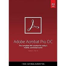 Adobe Acrobat Pro DC | Pro | 1 Year | PC/Mac | Download