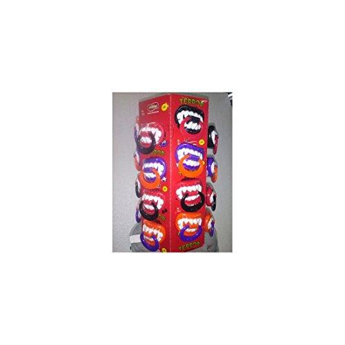 IST B-Pop Mix Zähne mit Schnuller Lolli Lutscher bunt Einheitsgröße