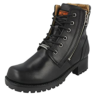 Harley Davidson Womens Asher Leather Boots