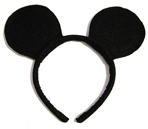 Inception Pro Infinite Stirnband - Ohren - Kleid Zubehör - Mickey Mouse - Mann - Kind - Karneval - Halloween - Micky Maus