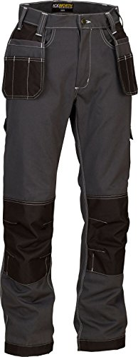 mens-work-trousers-multi-pocket-trade-extreme-pro-pants-triple-stitched-workwear-adults-34r-grey-bla