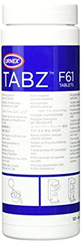 Urnex Tabz Coffee Brewer Cleaning Tablets, Pack of 120