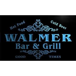 u47498-b WALMER Family Name Bar & Grill Home Decor Neon Light Sign Barlicht Neonlicht Lichtwerbung