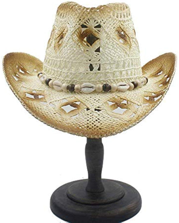 Cappello Comodo Cappello da Cowboy Occidentale di delle Paglia della  cavit agrave  degli Uomini delle di Donne di Modo Gentiluomo... Parent  ab18e2 491e8a5636ed
