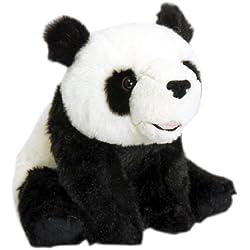 Keel Toys - Oso panda de peluche (25 cm, poliéster)