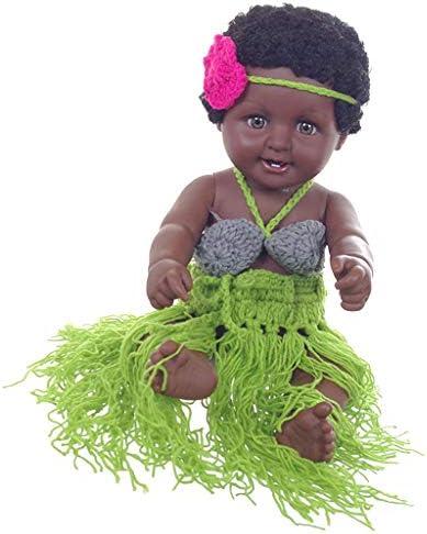 Baoblaze Poupée Bébé Fille Poupée Noire Afro-américaine Cadeau Enfance  Cadeau Afro-américaine B07KMY2K72 820151a45d3