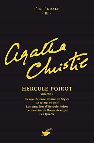 Intégrale Hercule Poirot volume 1 (Les Intégrales du Masque)