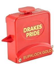 Drakes Pride Supalock Gold bowls measure - red