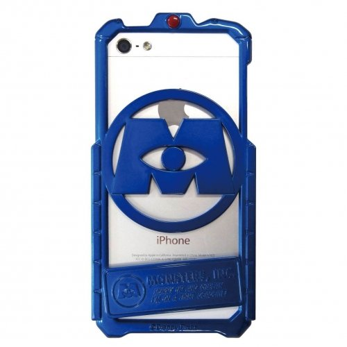 Monsters, Inc. iPhone5/5S entsprechenden Metall Bumper Blau ~ Metall blau dn-181b (Blue Monster Aus Monsters Inc)