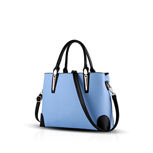 Bilis, Borsa a mano donna, Navy Blue (blu navy) - Bilis-257 Azure Black