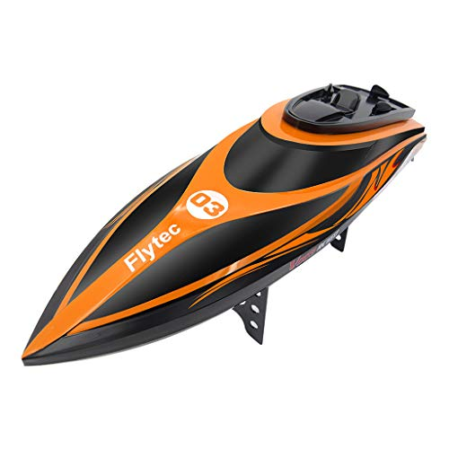 Fernbedienung RC Boot 30km / h High Speed Rennboot mit Starker Leistung Wasserdicht Elektroboot Spielzeug für Erwachsene und Kinder Geschenk