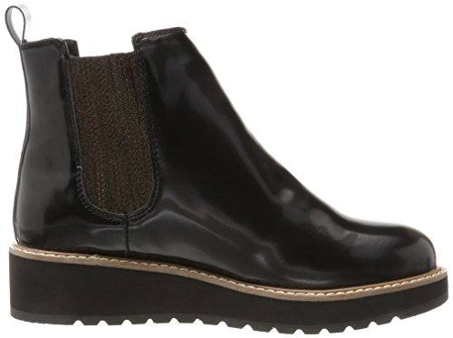 Pepe Jeans London Ramsy Chelsea, Stivali Donna Nero (Black)