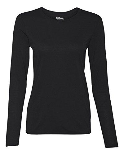 Gildan Performance® Ladies` Long Sleeve T-Shirt Black