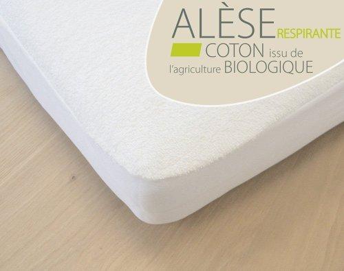 Kadolis Alèse Bébé Coton Bio 60X120 cm Blanc