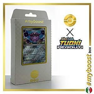 Forrestress 124/214 Holo Reverse - #myboost X Sole E Luna 8 Tuoni Perduti Box de 10 Cartas Pokémon Italiano