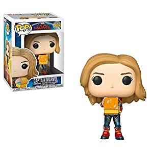 Funko Bobble Captain Marvel: Pop 1 Figura Coleccionable, (37685)