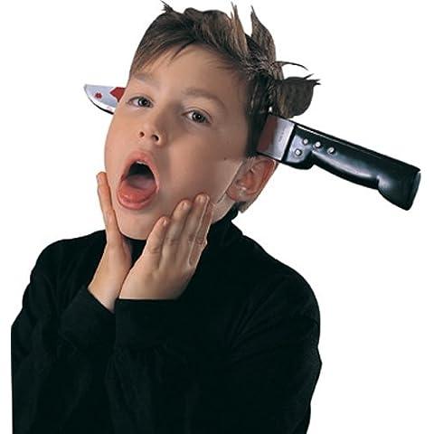 Cuchillo cabeza halloween