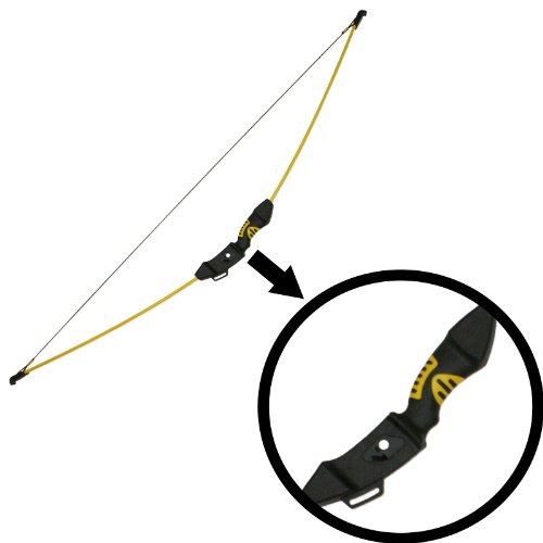 Recurve-Bogen RE-012YS / Bogen-Länge: 115cm / Zug-Gewicht: 4,5 Kg / Inklusive 2 Pfeile, einfacher Köcher, Armschutz, eine Zielscheibe (Starter-pfeil Und Bogen-set)