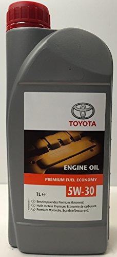 Olio Motore Originale Toyota Premium Fuel Economy 5W-30, 1 litro
