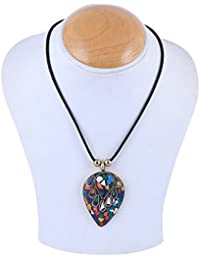 Arittra Alloy Black Dorri Brass Pendal \brass\Tribal\handicraft\Resin Design Silver Multi Colour,ethnic\traditional...