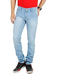 ANSH FASHION WEAR Men's Jeans - Contemporary Regular Fit Denims For Men - Washed Mid Rise Comfortable Jeans - B06XXJS4JZ