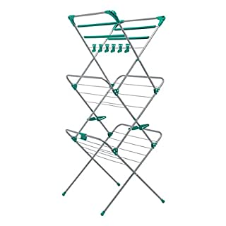 Addis Deluxe 3 Tier Airer, Metal, 10m