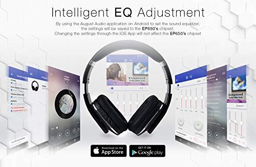 August EP650 Bluetooth v4 2 NFC Kopfh rer mit aptX Low