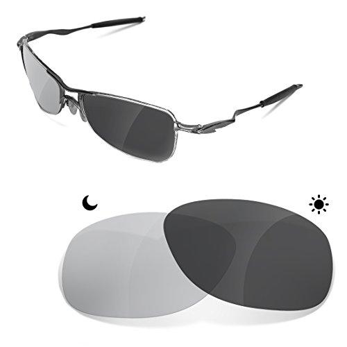 sunglasses restorer Kompatibel Ersatzgläser für Oakley Crosshair 1.0   Photochromic