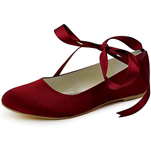 ElegantPark EP11105 Scarpe da sposa scarpe chiuse donna