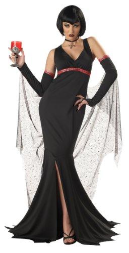 Kostüm Immortals - Immortal Seductress Damen Kostüm von Express Fancy Kleid Gr. X-Large, Schwarz - Schwarz