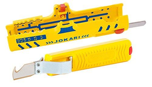 Jokari Abisolier Set - Jokari Abisoliermesser No. 28 H Standard + Jokari Secura Super Entmantler...