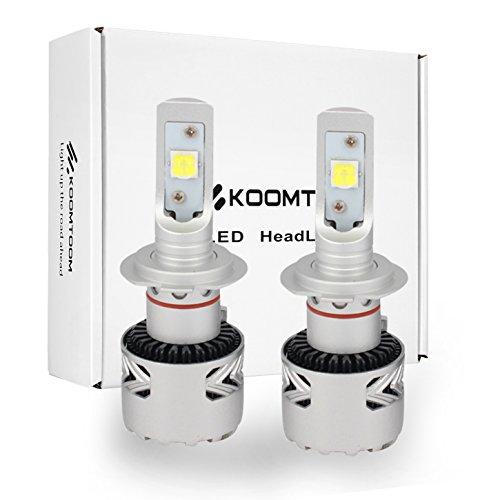 Preisvergleich Produktbild LED-Scheinwerfer Birnen Lampen Lange Lebensdauer über 30000hs CREE xhp70Chip Objektiv Projektor Auto Conversion Kit 40W 6500K 12,000lms Ultra Bright (2Stück)